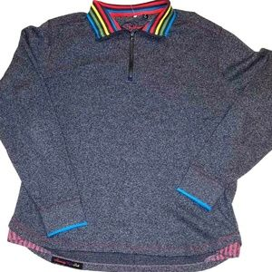 Robert Graham Gray Pullover | Large